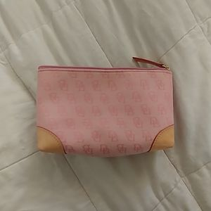Dooney and Bourke cosmetic bag, pink